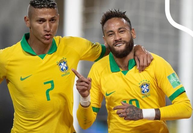 Neymar lập hattrick, Brazil giành 3 điểm trước Peru - 1