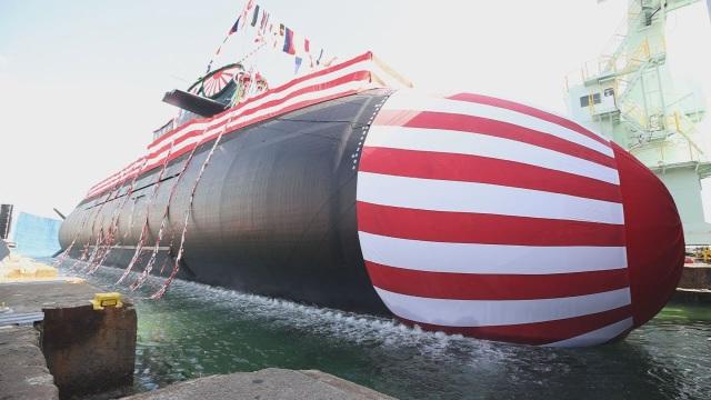 Nhật Bản trình làng tàu ngầm mới hơn 720 triệu USD - 1