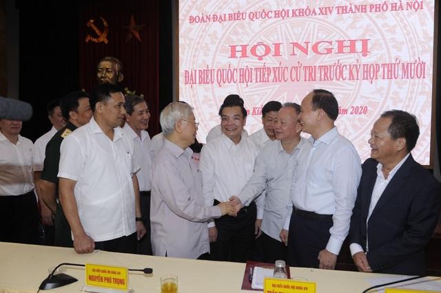 Tổng Bí thư: Hà Nội có Chủ tịch thành phố mới, không khí rất vui! - 1