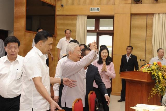 Tổng Bí thư: Hà Nội có Chủ tịch thành phố mới, không khí rất vui! - 4