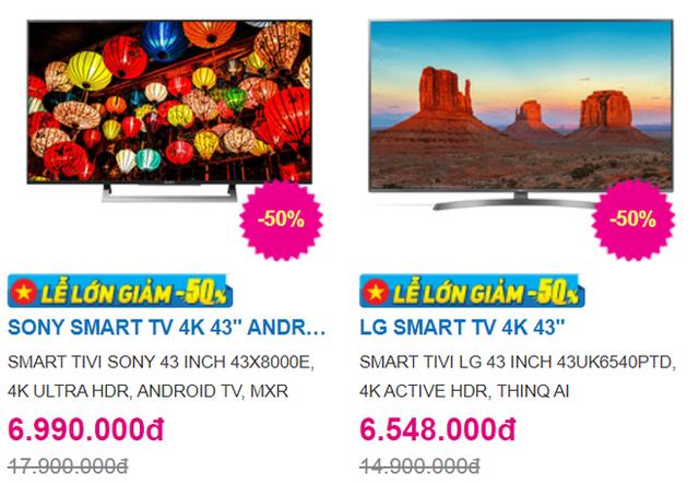 Trong bão giảm giá 50%, tivi 4K 43 inch có giá bán rẻ không tưởng - 3