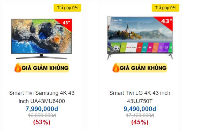 Trong bão giảm giá 50%, tivi 4K 43 inch có giá bán rẻ không tưởng - 4