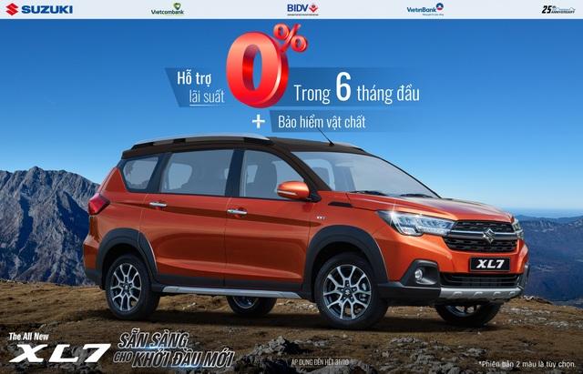 """Doanh số tăng trưởng mạnh, Suzuki """"chiêu đãi"""" khách hàng khuyến mãi lớn - 1"""