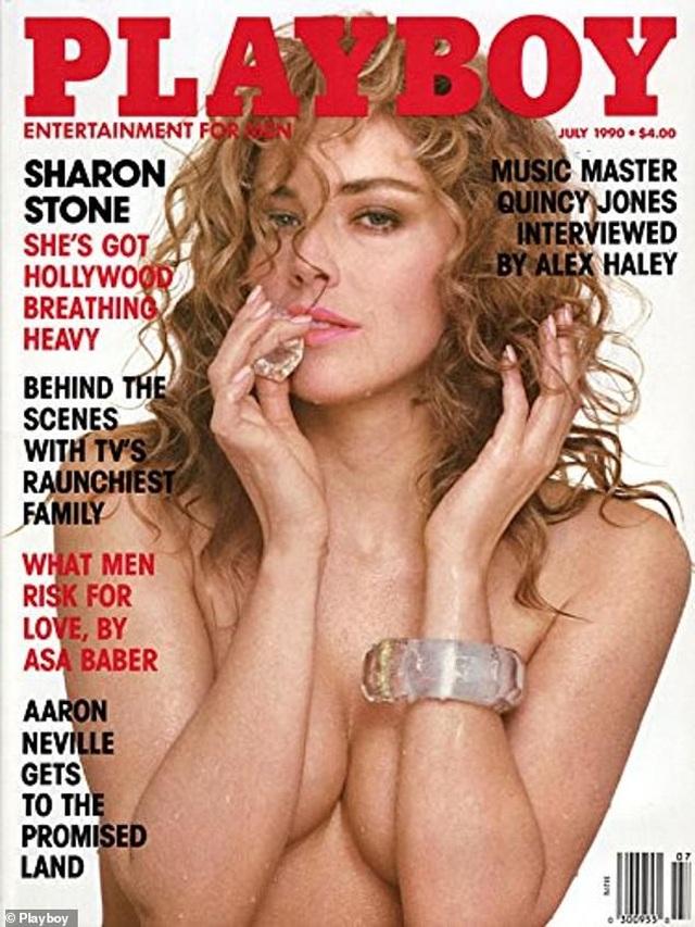 Sharon Stone tiết lộ lý do chụp ảnh mát - 1