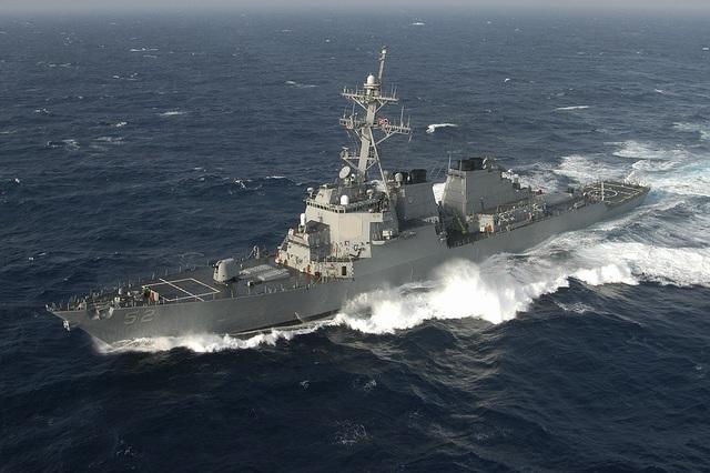 Chiến hạm Mỹ đi qua eo biển Đài Loan bất chấp Trung Quốc cảnh báo - 1