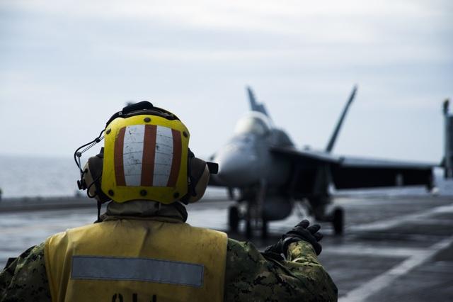 Nhóm tác chiến tàu sân bay Mỹ trở lại Biển Đông  - 3