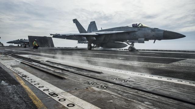 Nhóm tác chiến tàu sân bay Mỹ trở lại Biển Đông  - 1