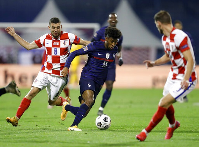 Griezmann, Mbappe đưa tuyển Pháp vượt qua Croatia - 2