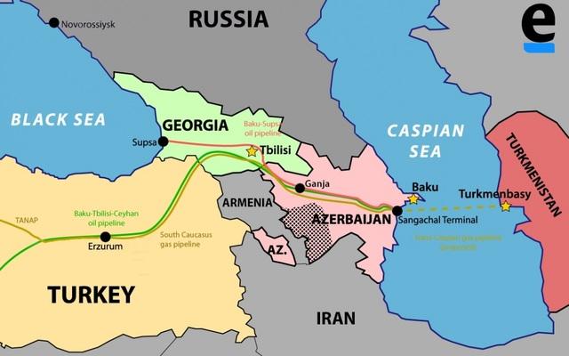 Xung đột Azerbaijan-Armenia đe dọa hành lang năng lượng của chính Thổ Nhĩ Kỳ - 1