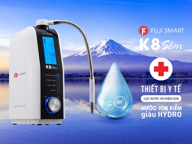 """Thiết bị y tế tạo nước ion kiềm Fuji Smart """"cháy"""" hàng tại Thế Giới Điện Giải - 5"""