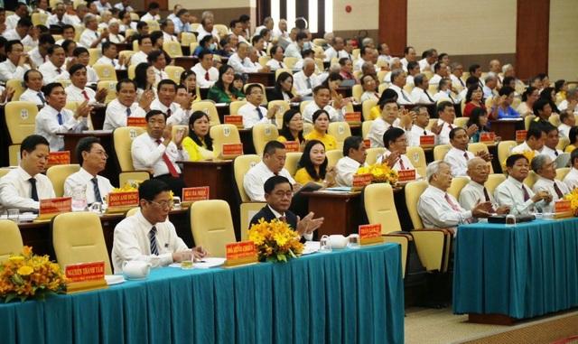 Chủ nhiệm UBKT Trung ương dự và chỉ đạo Đại hội Đảng bộ Tỉnh Trà Vinh - 1