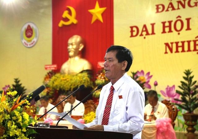 Chủ nhiệm UBKT Trung ương dự và chỉ đạo Đại hội Đảng bộ Tỉnh Trà Vinh - 2
