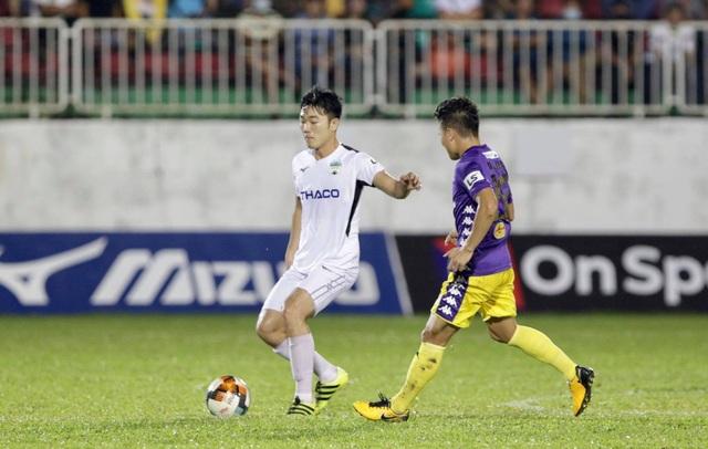 Thắng đậm HA Gia Lai, CLB Hà Nội áp sát ngôi đầu bảng V-League - 1