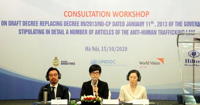 Hoàn thiện dự thảo nghị định mới về Luật phòng, chống mua bán người - 2