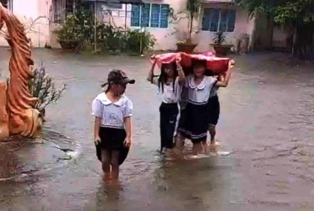 Hàng nghìn căn nhà chìm trong biển nước, hàng nghìn ha lúa bị ngập úng - 1