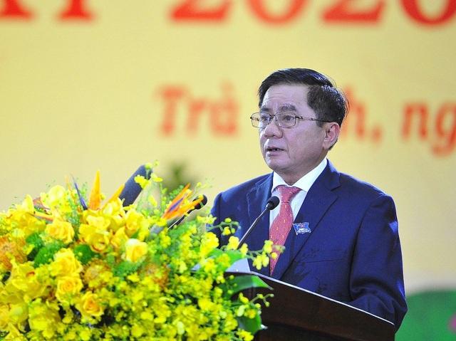 Chủ nhiệm UBKT Trung ương dự và chỉ đạo Đại hội Đảng bộ Tỉnh Trà Vinh - 3