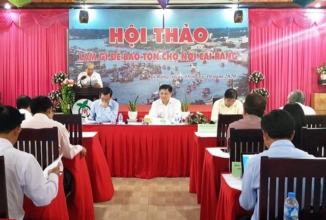 Trên 70% khách du lịch đến Cần Thơ đã tham quan chợ nổi Cái Răng - 1