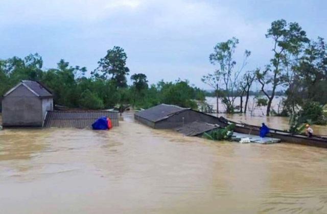 Trung Bộ mưa to, Hà Tĩnh đến Quảng Trị có thể mưa đặc biệt to - 1