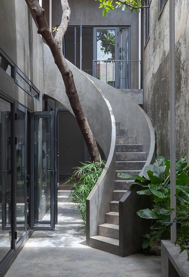 """Nhà ở Nghệ An như """"đi nghỉ dưỡng"""" nhờ sân vườn xanh mát quanh năm - 5"""