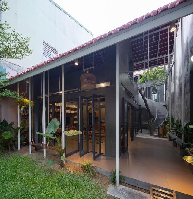 """Nhà ở Nghệ An như """"đi nghỉ dưỡng"""" nhờ sân vườn xanh mát quanh năm - 8"""