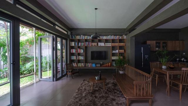 """Nhà ở Nghệ An như """"đi nghỉ dưỡng"""" nhờ sân vườn xanh mát quanh năm - 10"""
