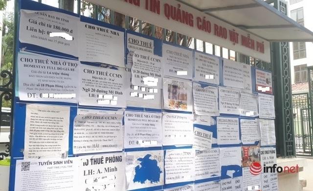 Hà Nội: Nhà trọ dưới 2 triệu đồng khan hiếm, chung cư mini sẵn hàng - 2