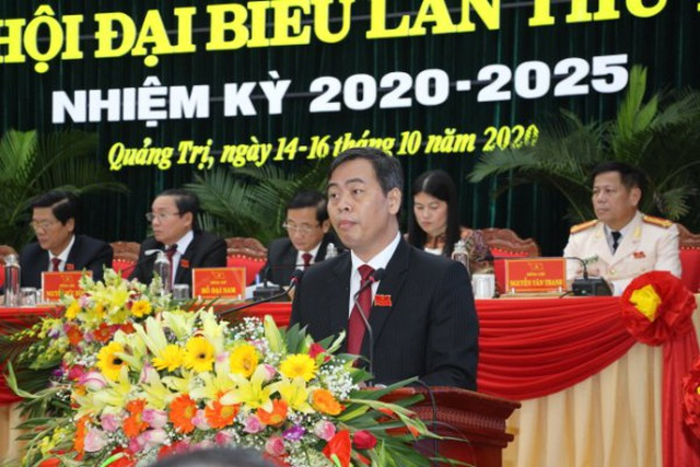 Ông Lê Quang Tùng tiếp tục làm Bí thư Tỉnh uỷ Quảng Trị - 3