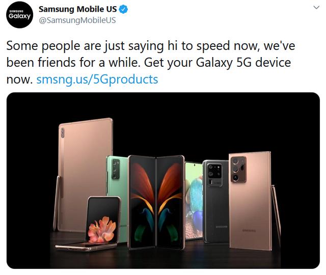 """Samsung """"đá đểu"""" Apple sau màn ra mắt iPhone 12 - 1"""