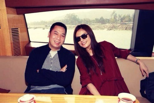 """""""Ông xã"""" của Triệu Vy lộ diện lần đầu sau nghi án ly hôn - 1"""