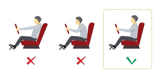 Chỉnh ghế lái như thế nào để ngồi lái xe liền vài giờ không mỏi? - 3