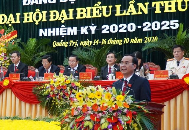 Ông Lê Quang Tùng tiếp tục làm Bí thư Tỉnh uỷ Quảng Trị - 5