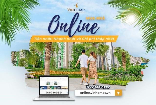 10 lý do để chọn mua nhà trên Vinhomes Online - 1