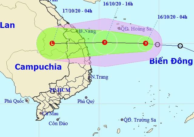Áp thấp nhiệt đới sẽ gây mưa rất to ở Trung Bộ - 1