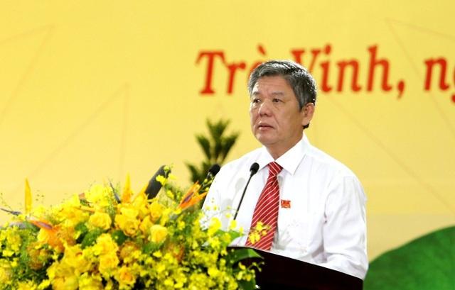 Ông Ngô Chí Cường được bầu làm Bí thư Tỉnh ủy Trà Vinh - 1
