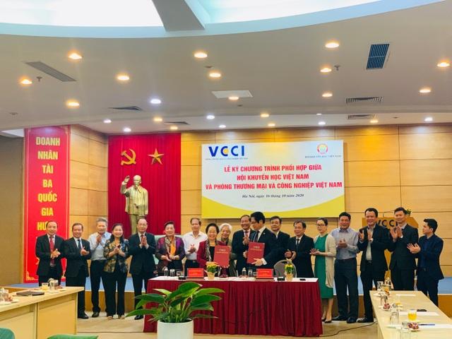 VCCI và Hội Khuyến học Việt Nam đẩy mạnh công tác khuyến học, khuyến tài - 1