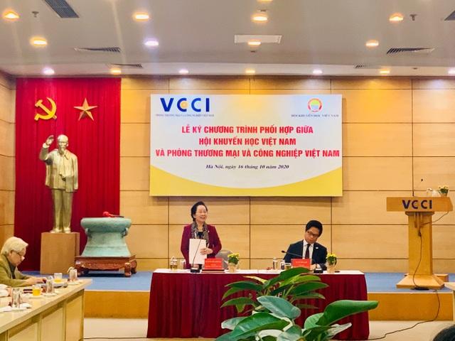 VCCI và Hội Khuyến học Việt Nam đẩy mạnh công tác khuyến học, khuyến tài - 2