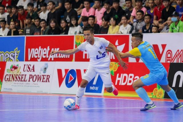 Thắng tuyệt đối Sanvinest Sanna Khánh Hòa, Thái Sơn Nam vô địch trước 3 vòng đấu - 3