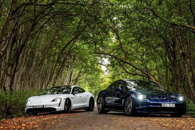 Porsche chính thức ra mắt dòng xe thể thao thuần điện cao cấp Taycan tại Việt Nam - 3