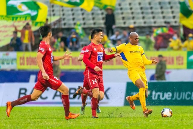 Thắng Hải Phòng, SL Nghệ An trụ hạng sớm 3 vòng đấu - 3