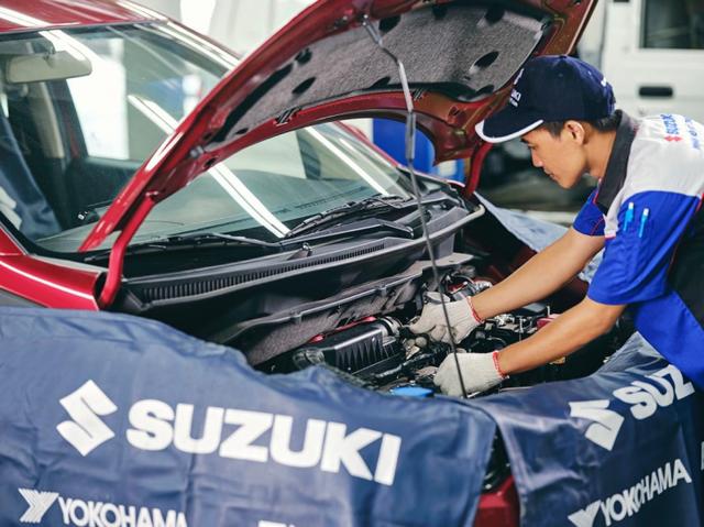 Suzuki nâng cao chất lượng dịch vụ hậu mãi và đảm bảo đủ phụ tùng - 3