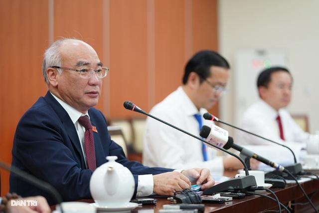 Ông Nguyễn Văn Nên được bầu làm Bí thư Thành ủy TPHCM - 1
