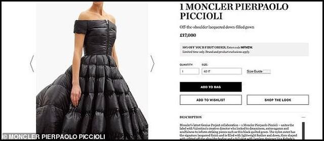 Váy phao to như... chăn bông có giá gần 510 triệu đồng - 2