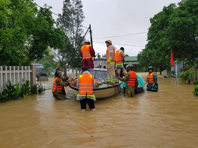 Thủy điện xả lũ, nước sông đang lên, nguy cơ lụt chồng lụt - 3