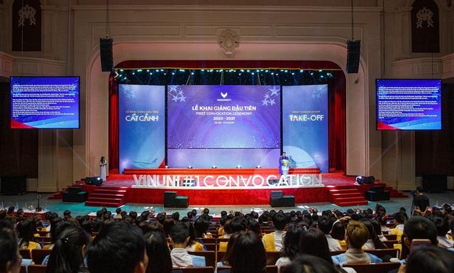 Trường đại học VinUni khai giảng năm học đầu tiên - 5