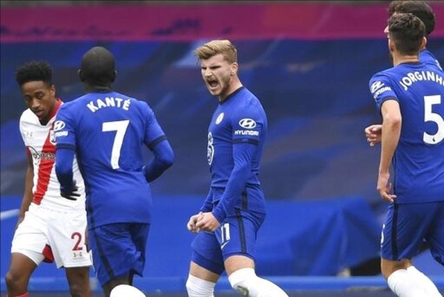 Chelsea 3-3 Southampton: Werner tỏa sáng là không đủ - 1