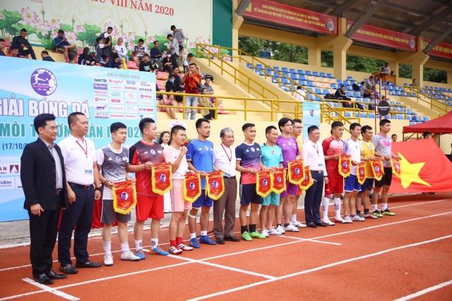 Ấn tượng Lễ khai mạc Giải bóng đá Kinh tế Môi trường lần I-2020 - 3