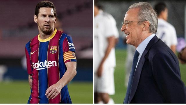 """Nghi án Chủ tịch Florentino Perez """"trả thù"""" Messi vì bị nếm trái đắng - 1"""
