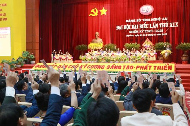 Ông Thái Thanh Quý tái đắc cử Bí thư Tỉnh ủy Nghệ An - 11