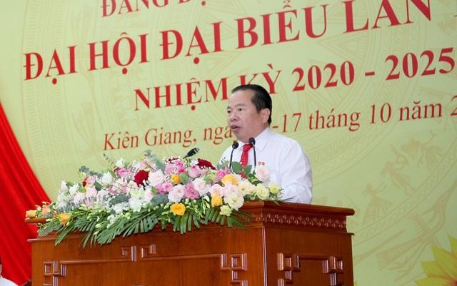 Chủ tịch UBND tỉnh Kiên Giang được bầu giữ chức Bí thư Tỉnh uỷ - 2