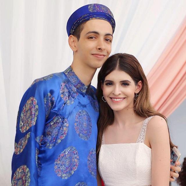 Em trai người mẫu Andrea thành hot TikToker, có thành tích học tập đáng nể - 2